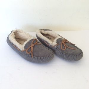 Women's ugg Gray Slippers 9
